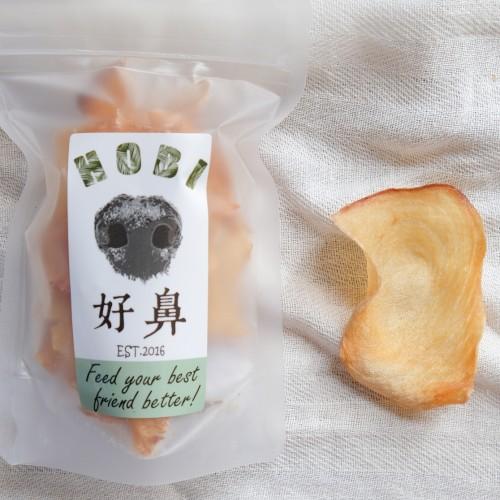 生食等級 香脆旗魚薄片肉乾- 寵物零食