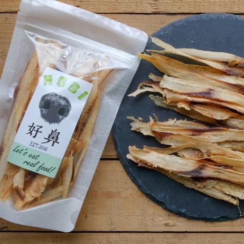 來自台灣東海岸 正港海底雞 鬼頭刀肉片乾- 寵物零食