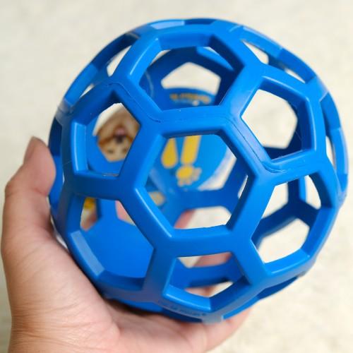 美國JW 天然橡膠洞洞球(L)  寵物益智玩具
