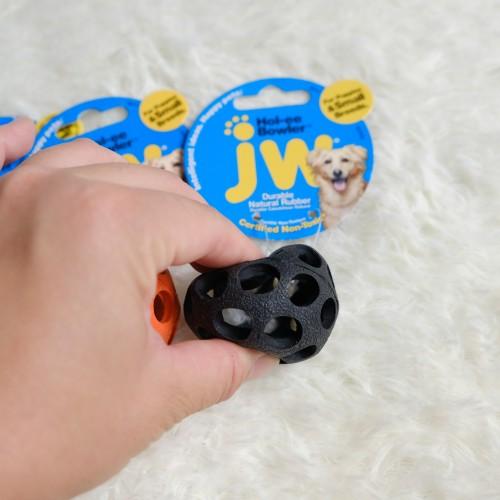 美國JW 天然橡膠保齡球(XS)  寵物益智玩具