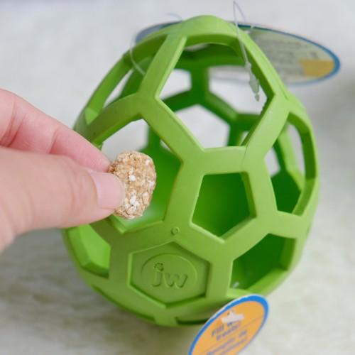 美國JW 天然橡膠漏食搖擺蛋  寵物益智玩具