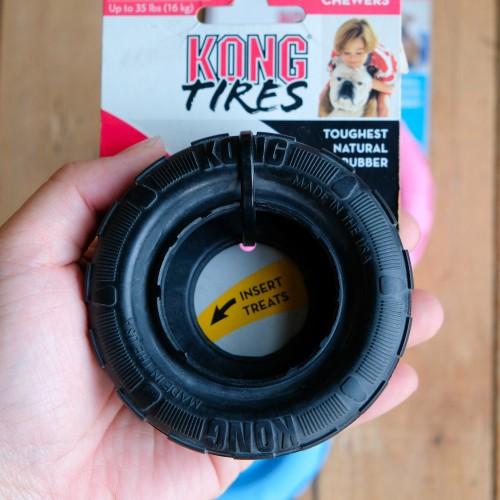 美國KONG Extreme 黑色耐咬輪胎玩具 (S)