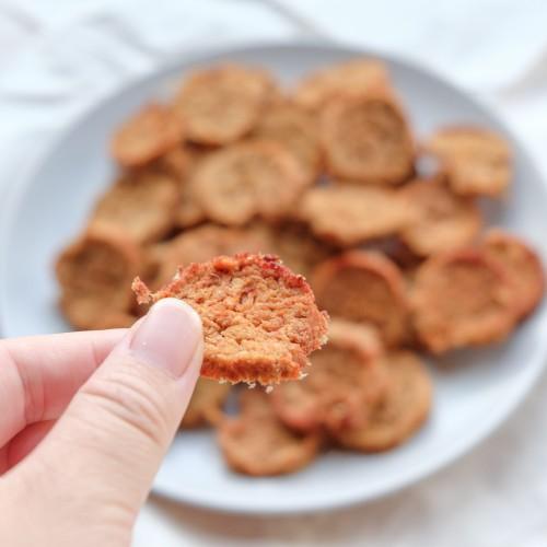 鱉蛋豬肉小圓脆餅 家庭包